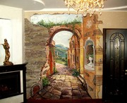Художественная роспись по стене от дизайн студии Романа Москаленко - foto 3