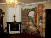 Художественная роспись по стене от дизайн студии Романа Москаленко - foto 4