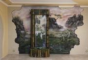 Художественная роспись по стене от дизайн студии Романа Москаленко - foto 8